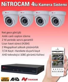 4 Kameralı Nitrocam Güvenlik Sistemi