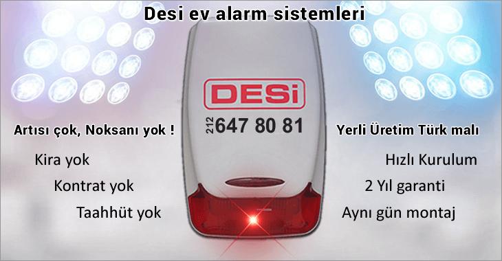 Desi Ev Alarm Sistemi