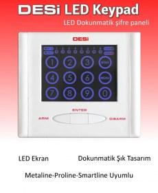 Desi LED Keypad Dokumatik