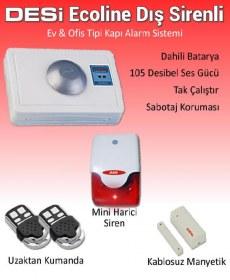 Desi Ecoline HS103 Dış sirenli Kablosuz Alarm