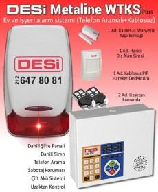 Desi Metaline WTKS Plus Kablosuz Alarm Sistemi