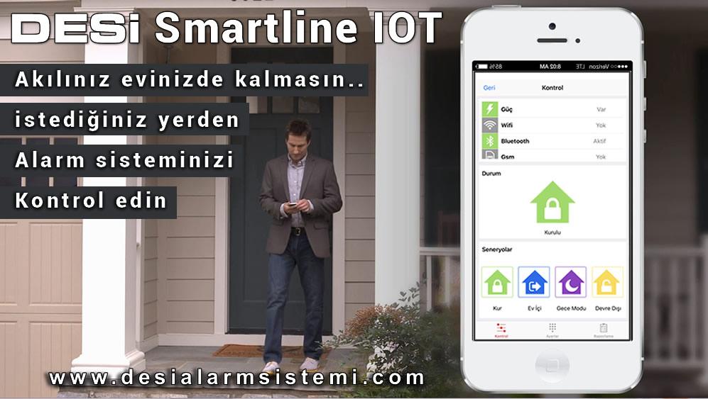 Desi Smartline Akıllı Ev Alarmı