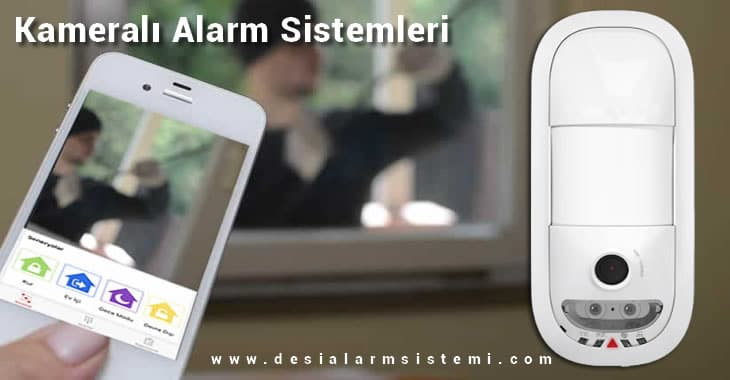 Kameralı Alarm Güvenlik Sistemleri