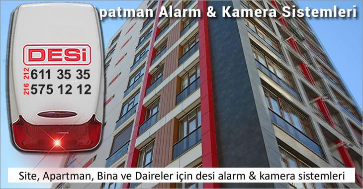 Apartman ve Site içi Alarm & Güvenlik Sistemleri